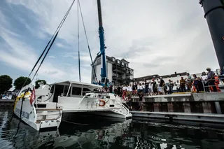 OCEAN YOUTH SAILING LAUNCH ARROW 1360 - Schionning Designs International