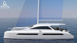 Solitaire 1490 Catamaran Design - Schionning Design International
