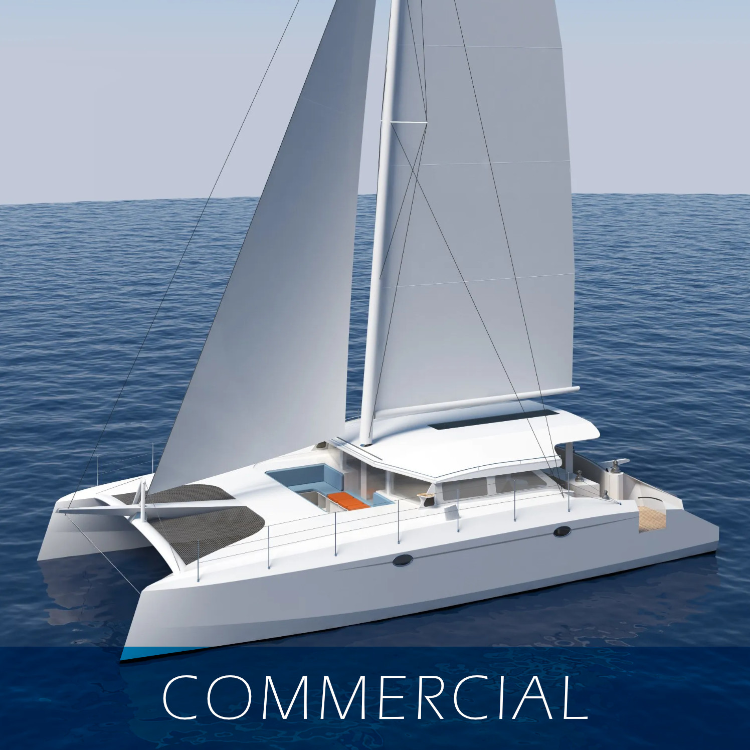 Commercial Catamaran Designs - SDI - Schionning Designs International