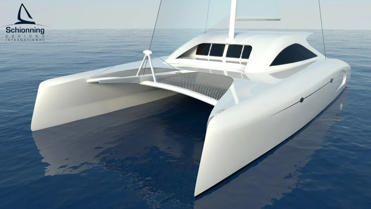 G-Force 1400C Catamaran - SDI - Schionning Designs International