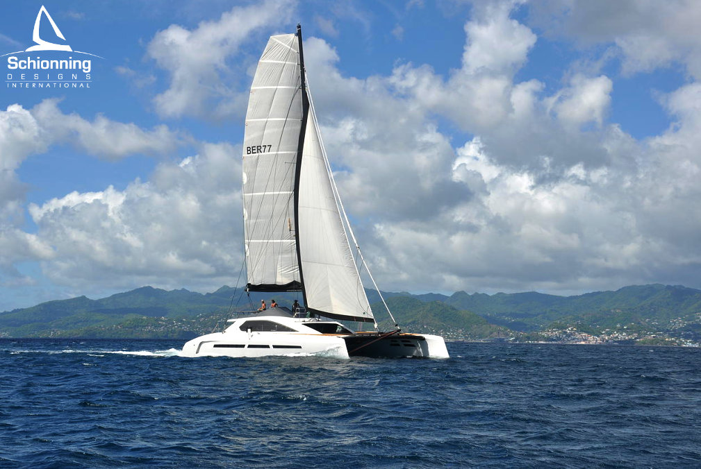 G-Force 2350 - SDI - Schionning Designs International - Sailing