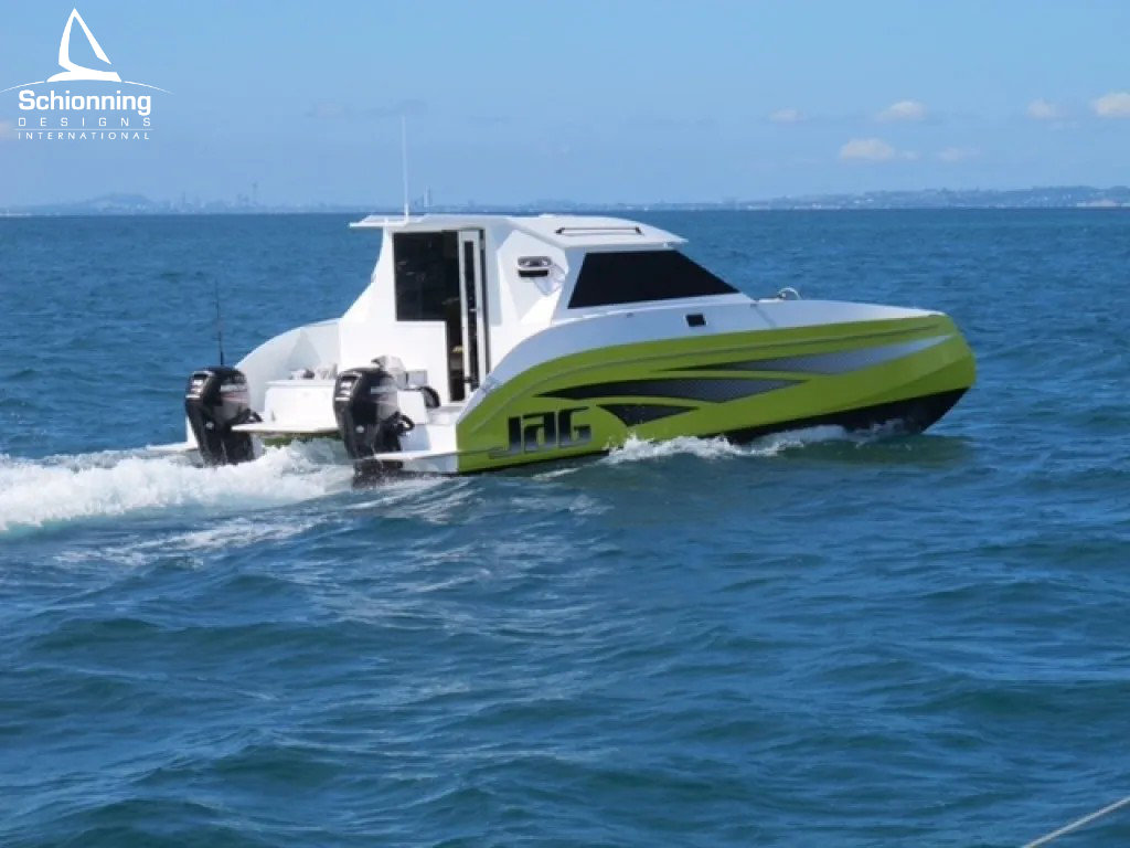 Growler 950 VTR Power Catamaran - SDI - Schionning Designs International