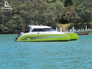 Growler 950 VTR Power Catamaran - SDI - Schionning Designs International