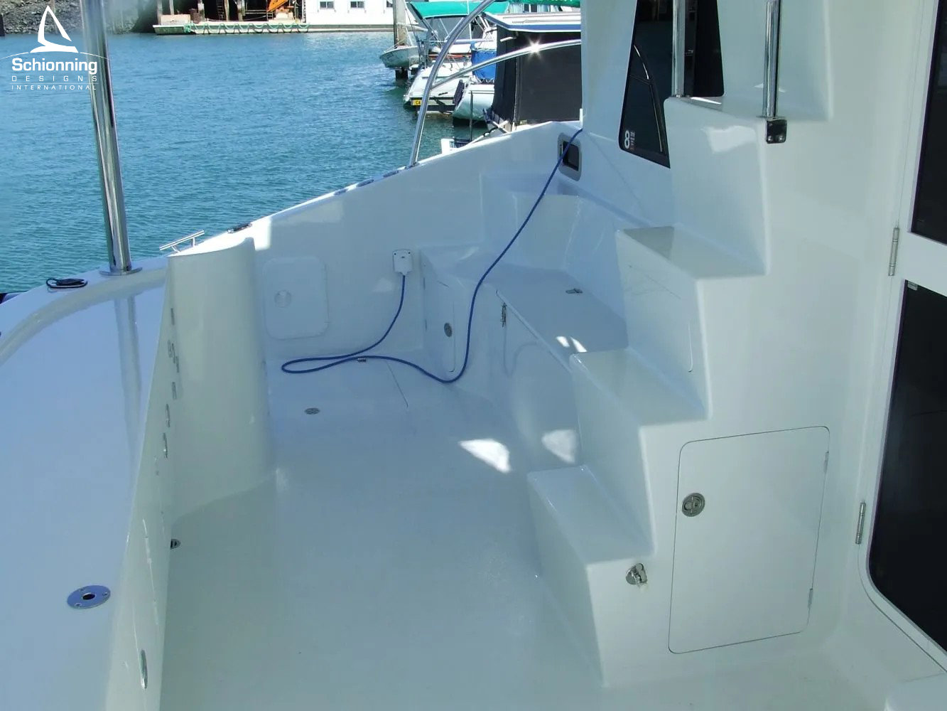 Ray Boat In skipSDI - Schionning Designs International Growler 950 VT