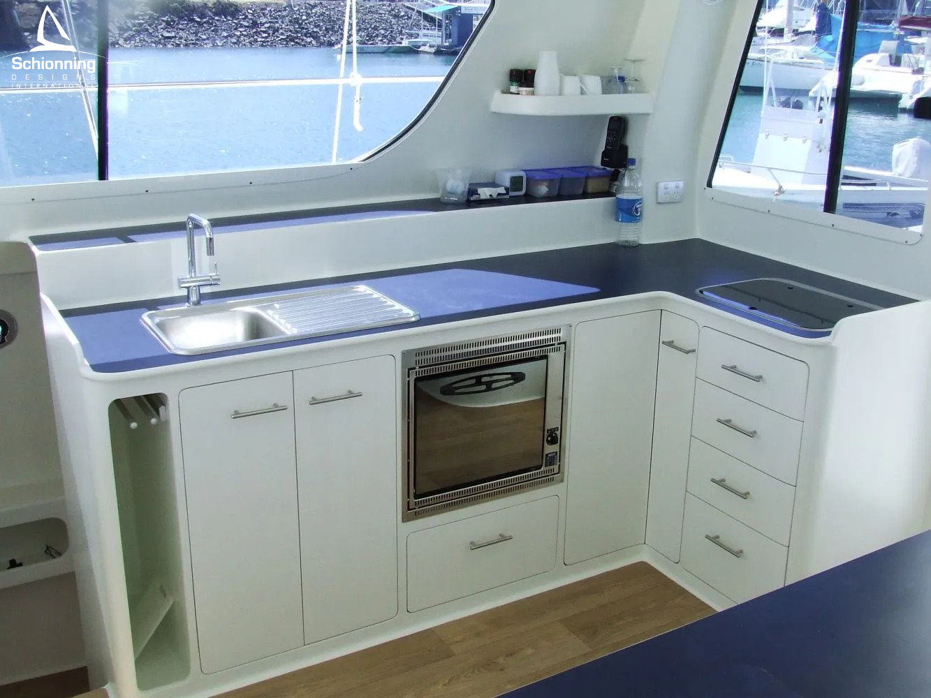 Ray Boat In skip SDI - Schionning Designs International Growler 950 VT