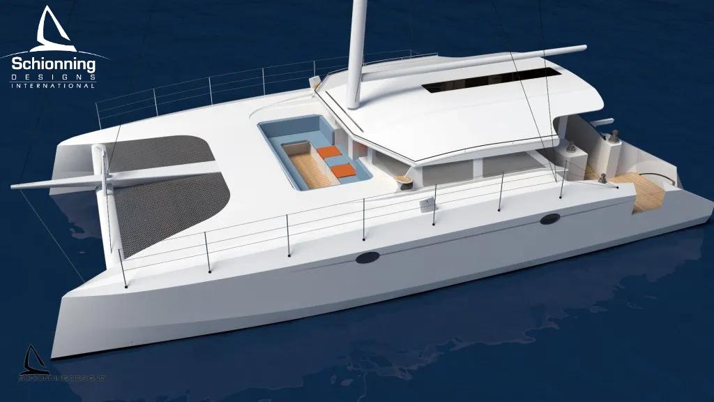 Arrow 1500DC Day Charter SDI Catamaran Commercial Design