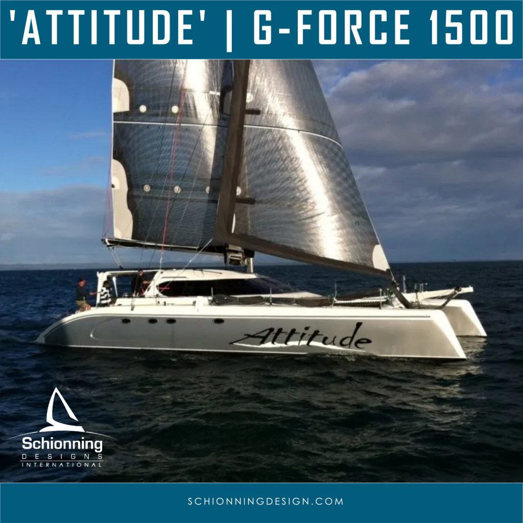 ATTITUDE-G-Force-1500-Catamaran-Owner-Report-Schionning-Designs