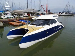 GROWLER VTR950 Production Power Catamaran Schionning Designs