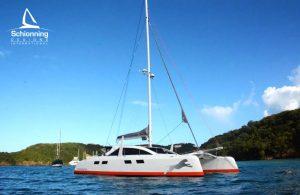 Immagina Catamaran Design by Schionning Designs - Cape Town - Grenada 2