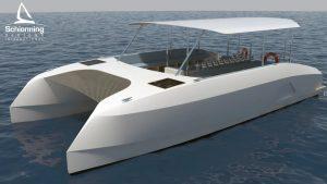 Prowler GTR1040 Dive Vessel Catamaran = Schionning Designs 13