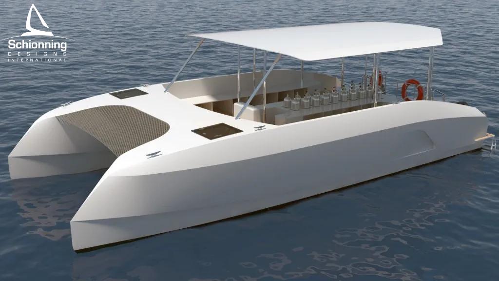 Prowler 1040 GTR Dive Vessel Catamaran - Schionning Designs