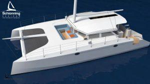 External CAD Render - Arrow 1500 Sailing Catamaran Commercial Design - SDI (9)