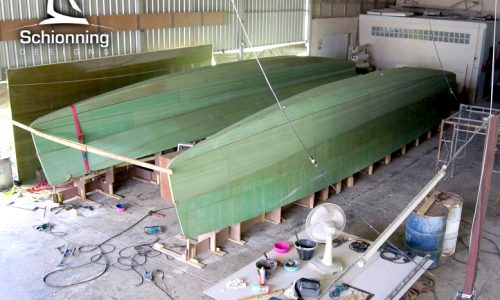 Arrow 1201 - Schionning Designs - Hulls Started July, 2019 2