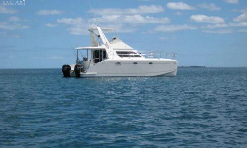 Atanch or Growler 950 VT Power Catamaran - SDI - Schionning Designs International