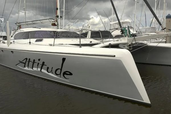 Attitude Dock_ATTITUDE G-Force 1500 Catamaran - Schionning Designs 5