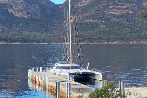 Attitude G-Force 1500 Schionning Designs Catamaran Coles Bay 2b