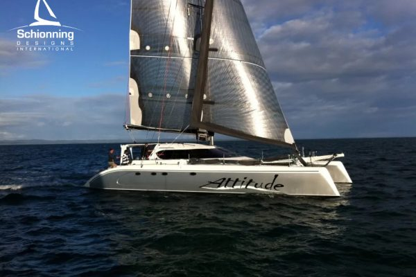 Attitude Sailing_ATTITUDE G-Force 1500 Catamaran - Schionning Designs