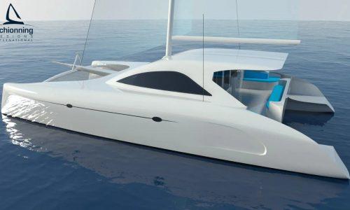 G-Force 1400C Catamaran - SDI - Schionning Designs International