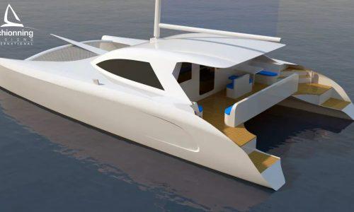 G-Force 1500C Exterior Std CAD Catamaran Design - SDI - Schionning Designs International