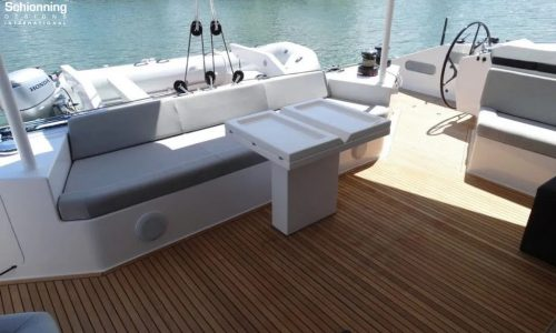 G-Force 1800 SSS Catamaran Interiors - SDI - Schionning Designs International