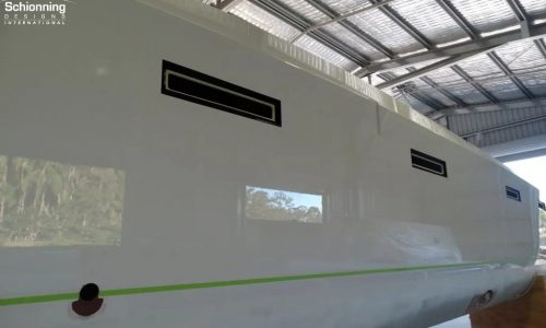 G-Force 1800 SSS Catamaran Construction / Build Process- SDI - Schionning Designs International
