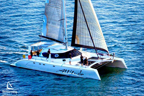 G-Force1500 Attitude Sailing Catamaran Design by Schionning Designs