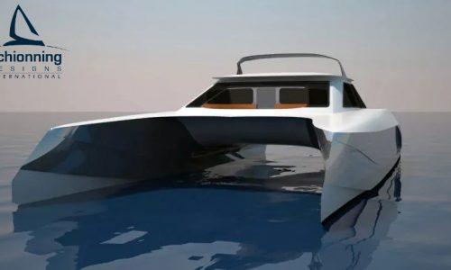 Growler GTR1500 Power Catamaran Exterior CAD - SDI - 3
