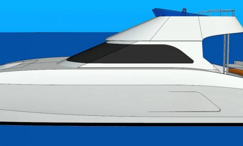Prowler 1040 GTR Power Catamaran - SDI - Flybridge Model