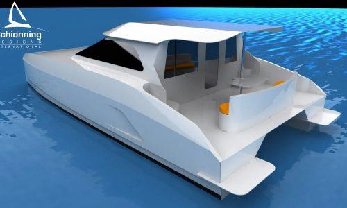 Prowler 1040 GTR Power Catamaran - SDI - Sedan Model