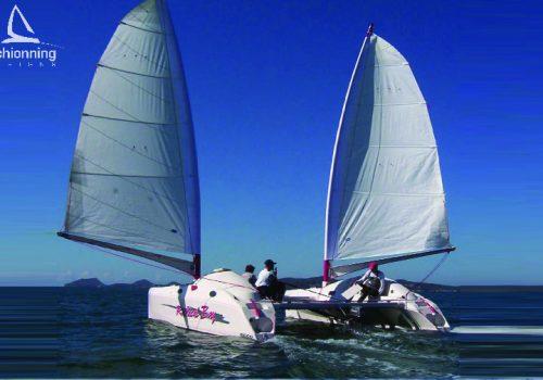 Radical Bay 800 Catamaran Schionning Designs