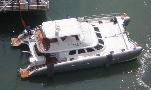 SDI Alaskan 52 Power Catamaran Tesania 2