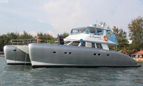 SDI Alaskan 52 Power Catamaran Tesania Launch 4