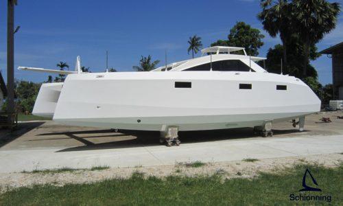 Schionning Designs Arrow 1201 Catamaran Current Build - Location Thailand