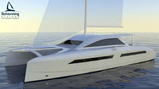Solitaire 1490 Catamaran Design - Schionning Design International (1)