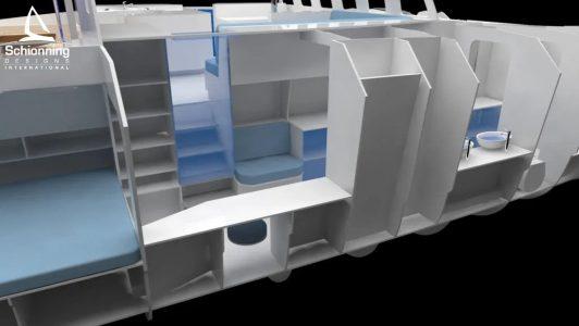 Solitaire 1490 Catamaran Design - Schionning Design International (27)