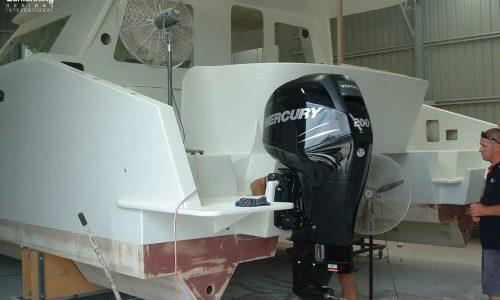 outboardfit Growler 950 VT Power Catamaran - SDI - Schionning Designs International